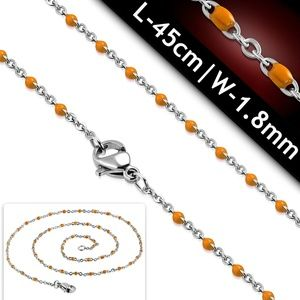 L-45cm W-1.8mm | Stainless Steel Flat Oval Link